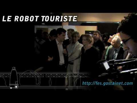 Robot touriste - Gostai - Futur en Seine 2009