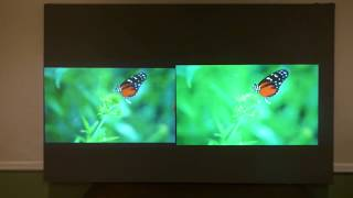 SCREEN PAINT THAT MAKE A 720P LOOK LIKE 4K SIDE BY SIDE DEMONSTRATION!