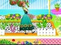 Ayuda a ANA FROZEN a decorar el jardín