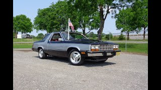 1980 Ford Fairmont Futura Turbo in Black & Silver & Engine Sound on My Car Story with...
