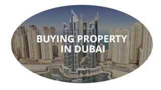 Buying property in Dubai for investors