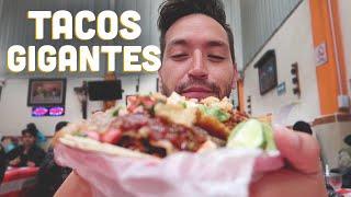 """Tacos GIGANTES """"El Papi"""""""