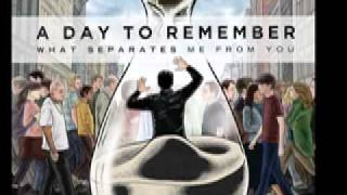 A Day To Remember - Better Off This Way (lyrics)