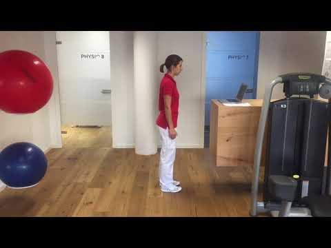 Fit am Arbeitsplatz - Übungen im Stehen