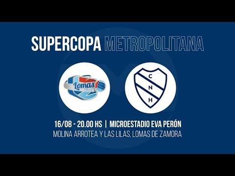 Super Copa Metropolitana l Mun. Lomas de Zamora Vs. Club Náutico Hacoaj #MetroVoley