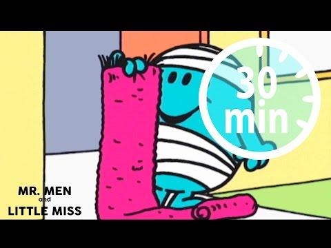MR MEN & LITTLE MISS - 30 minutes - Compilation #4