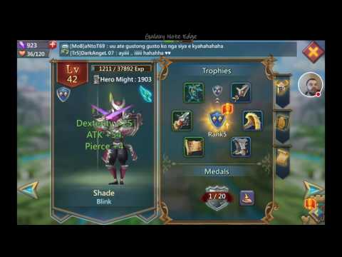 Lords Mobile: Upgrading Heroes