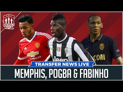 POGBA IN TALKS WITH UNITED? Mancheser United Transfer News
