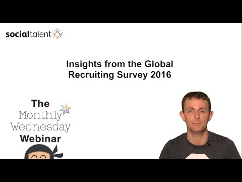 Global Recruiting Survey 2016