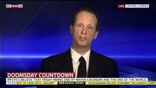 Live Sky News TV interview