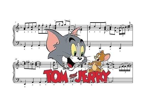 Tom & Jerry Theme - Piano Version (Sheet Music)