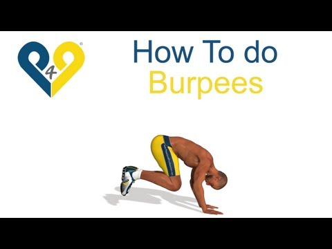 How To Do Perfect Burpees