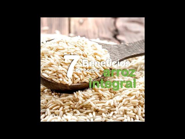7 beneficios del arroz integral