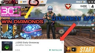 FREE FIRE GIVEAWAY APP WIN DIAMONDS EVERY SUNDAY