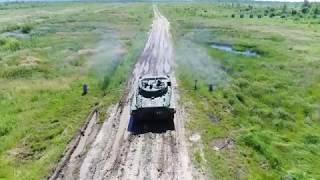 Занятия мотострелкового соединения ВВО по новой программе боевой подготовки НИР «Колесо»