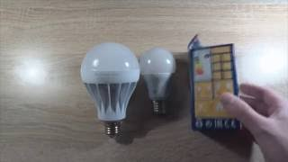 Светодиодные лампы, какие купить? Фабричные или китайские с Алиэкспресс?(Обзор светодиодной лампы REV Ritter GmbH LED-E27-10W-2700K , аналог 75 Вт лампы накаливания. Сравнение заводской лампы REV..., 2016-08-20T17:13:24.000Z)