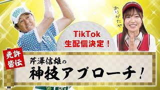 TikTokライブに芹澤プロが登場!神技アプローチを教えてもらいます!!【高橋としみ】【芹澤信雄】