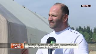 Sektör Haber | Tarım ve Hayvancılık sektöründe çadır kullanımı