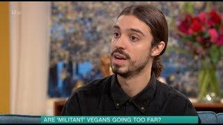 Vegan on This Morning Live TV debate | 2018