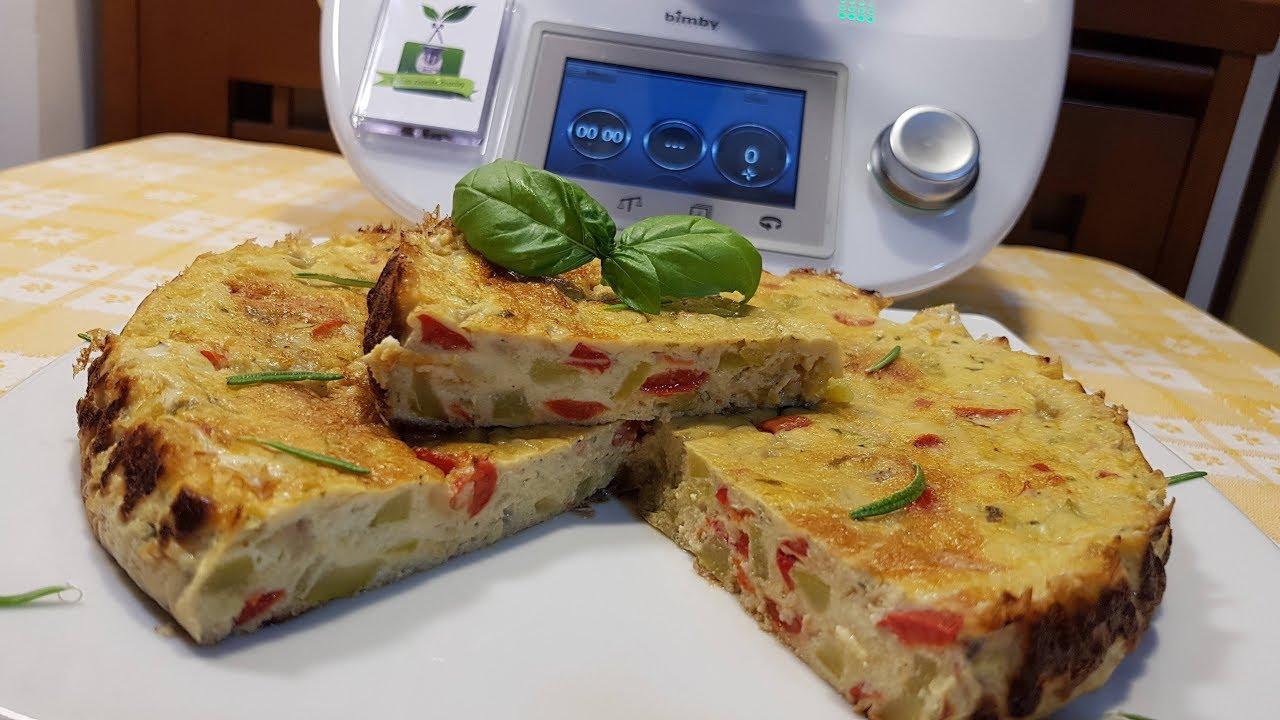 Torta Di Uova Con Verdure Per Bimby Tm6 Tm5 Tm31