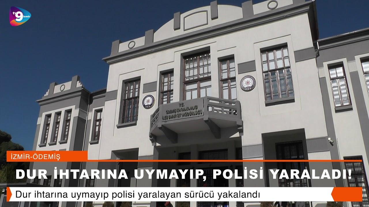 DUR İHTARINA UYMAYIP POLİSİ YARALADI