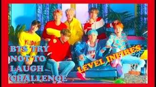 BTS TRY NOT TO LAUGH CHALLENGE || LEVEL INSFIRES (part  .4) (thank you for 1k)