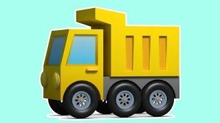 Eğitici çizgi film - Ekskavatör Max - Sürpriz yumurta - Damperli kamyon