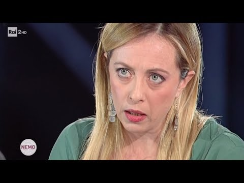 Intervista a Giorgia Meloni - Nemo - Nessuno escluso 30/11/2018