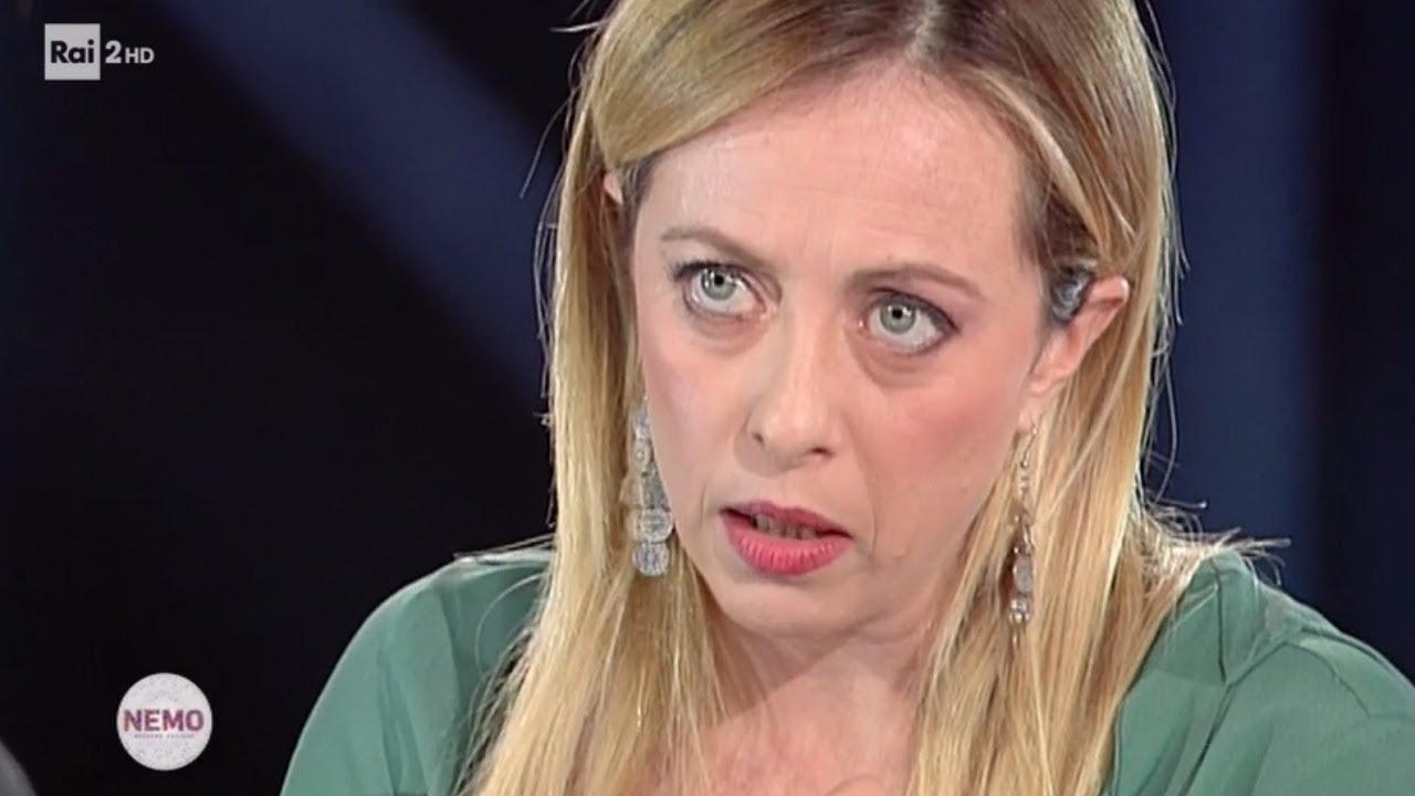 Intervista A Giorgia Meloni Nemo Nessuno Escluso 30 11