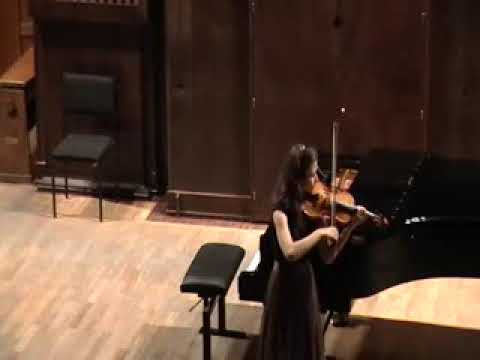 Ms Maryana Osipova performance on Ysaye Sonata No2