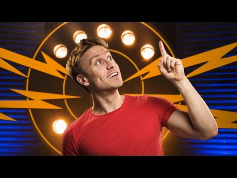 Russell Howard gets slammed by an audience member