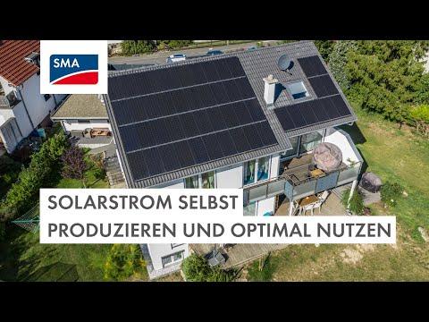 Solarstrom selbst produzieren und optimal nutzen