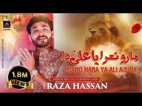 Qasida - Maaro Naara Ya Ali Da Rab De Wali Da - Raza Hassan - 2017