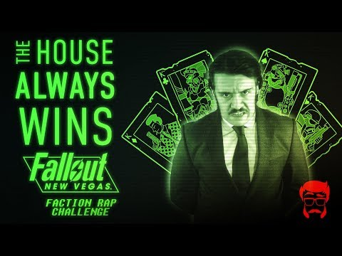 THE HOUSE ALWAYS WINS | Animated Fallout: New Vegas Rap!