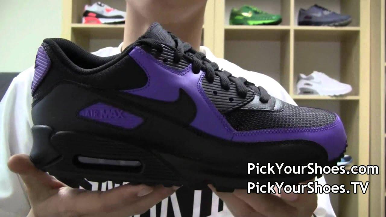Nike Air Max 90 Black Purple