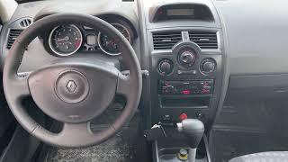 Renault Megane, 2006г.  231 779 км, 1.6, AT (115 л.с.) видеообзор от Ильи Соловьева...