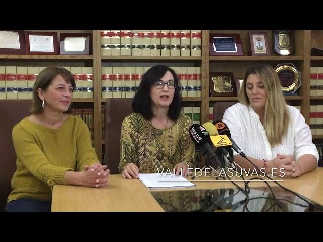 Rueda de prensa presentación Bailes de la Reina Grupo Alboroque de #Aspe