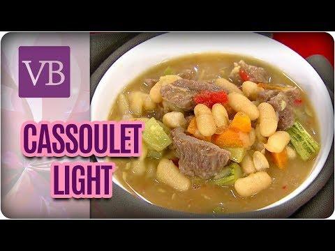 Cassoulet Light Com Farofa de Cereais - Você Bonita (21/03/18)