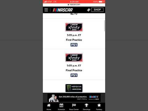 Here's The Tv Schedule For Bristol + The First Cup Practice Has No Tv Airing