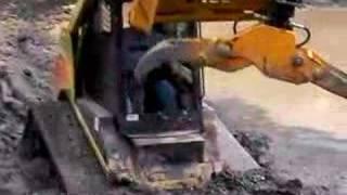 ASV SR80 in the mud