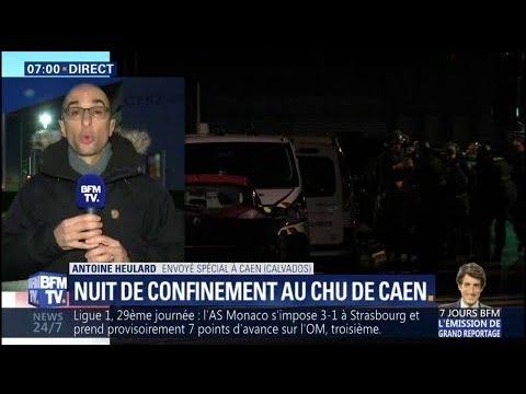 Fin d'une opération de police au CHU de Caen pour retrouver un homme aux propos menaçants