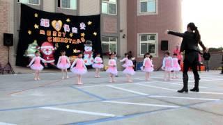希望城堡幼兒園103年聖誕嘉年華  讓愛傳出去  舞蹈班表演  海洋之星