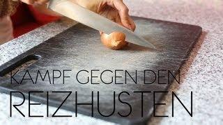 ZWIEBELKUR // Kampf gegen den (Reiz-) Husten!