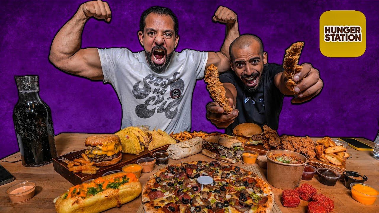 تحدي ١٥،٠٠٠ سعرة حرارية من ١٠ مطاعم  🌮 Ten Restaurants 15,000 Calories