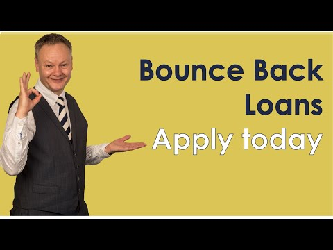 UK Government Bounce Back Loans - Apply Today