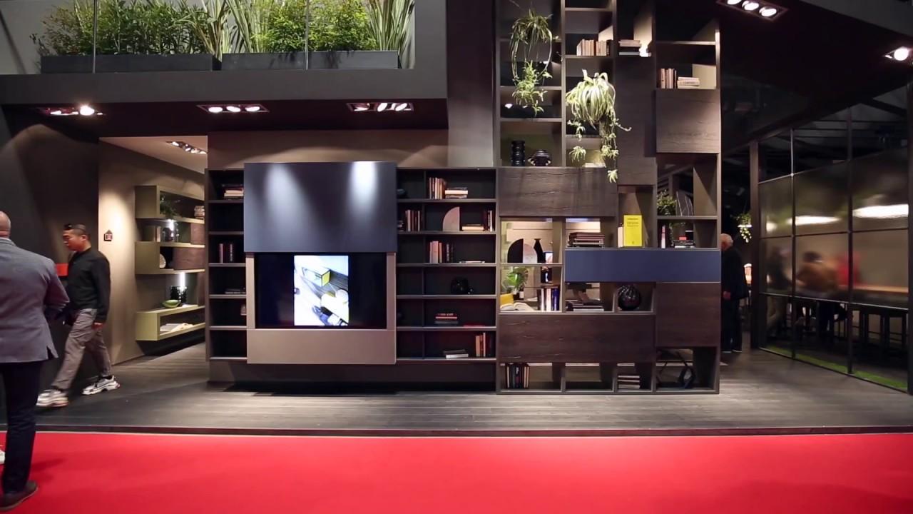 Salone del Mobile 2018 | FIMAR | soggiorni moderni, librerie design ...