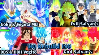 NEW DBZ TTT MOD BT3 ISO V2 Full HQ Graphics And Epic Aura With Kanba + Goku And Vegeta MUI DOWNLOAD