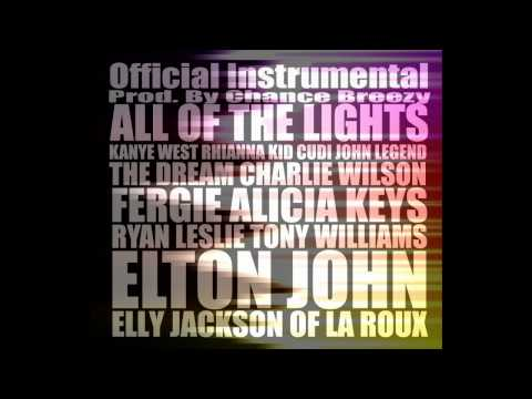 All Of The Lights OFFICIAL Instrumental (Best On YouTube)