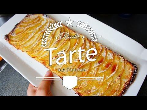 [-recette-n°3-]-:-feuilleté-aux-pommes-//-مورق-بالتفاح