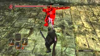 Dark Souls 2 PVP: Tactics are far better than brainless R1 spamming.